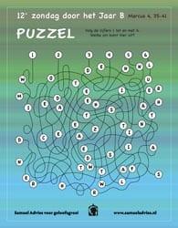 12e Zondag door het jaar B - Puzzel