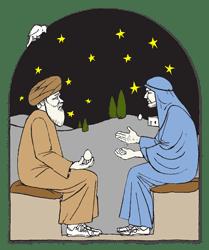 4e Zondag van de Veertigdagentijd - Vertelplaat