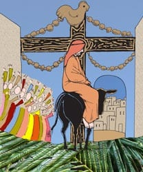 Palm- of Passiezondag - Vertelplaat