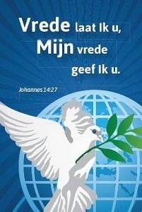 vrede laat ik u, mijn vrede geef ik u