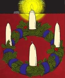 1e Zondag van de Advent jaar B - Vertelplaat