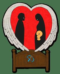 4e Zondag van de Advent jaar A - Vertelplaat