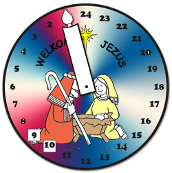 Adventswerkje Klok
