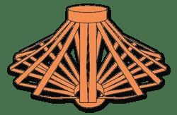 Driekoningen lampionnetje (AK583)