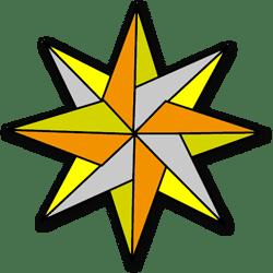 Driekoningen ster (ak584)