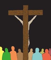 Laatste zondag door het jaar C - Christus Koning - Vertelplaat
