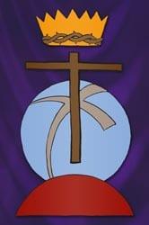 Christus Koning - Vertelplaat