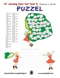 14e Zondag door het Jaar A - Puzzel