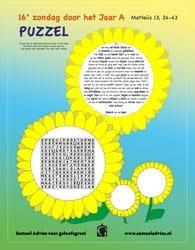 16e Zondag door het jaar A - Puzzel