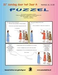 21e Zondag door het jaar A - Puzzel