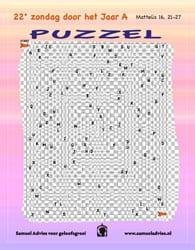 22e Zondag door het jaar A - Puzzel