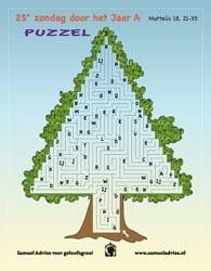 25e Zondag door het jaar A - Puzzel