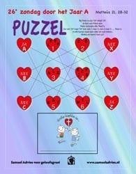 26e Zondag door het jaar A - Puzzel