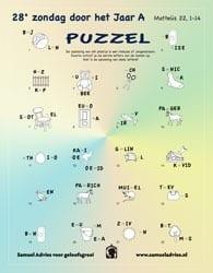 28e Zondag door het jaar A - Puzzel
