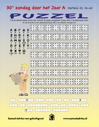 30e Zondag door het jaar A - Puzzel