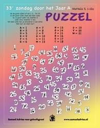 33e Zondag door het Jaar A - Puzzel