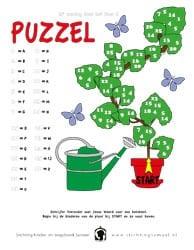 11e zondag door het jaar B - Puzzel