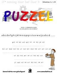 17e Zondag door het jaar B - Puzzel