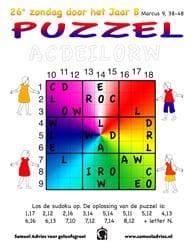 26e Zondag door het jaar B - Puzzel