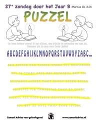 27e Zondag door het jaar B - Puzzel
