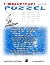 5e Zondag door het jaar C - Puzzel