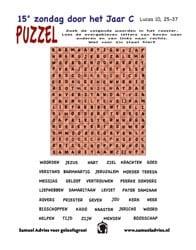 15e Zondag door het jaar C - Puzzel