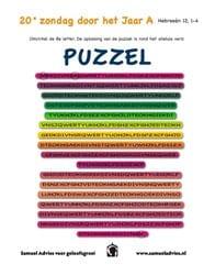 20e Zondag door het jaar C - Puzzel