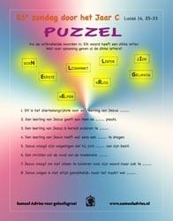 23e Zondag door het jaar C - Puzzel