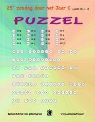 25e Zondag door het jaar - puzzel