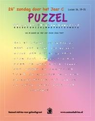 26e Zondag door het jaar C - Puzzel
