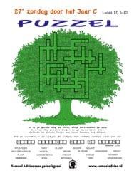 27e Zondag door het jaar C - Puzzel