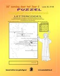 32e Zondag door het jaar C - Puzzel
