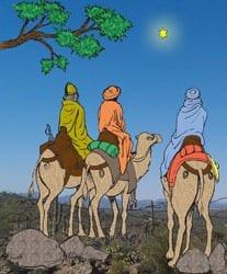 Feest van Driekoningen - Vertelplaat