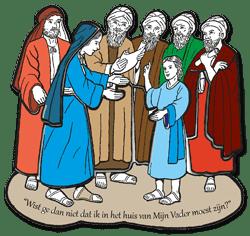 Puzzelwerkje - 12-jarige Jezus (nt201)