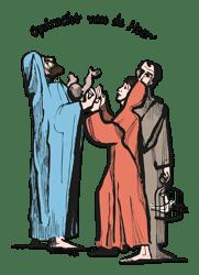 Opdracht vd Heer - Vertelplaat