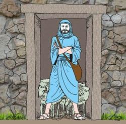 4e Zondag van Pasen - Vertelplaat