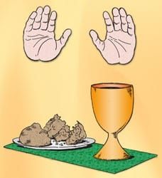 Feest van het H. Sacrament - Vertelplaat