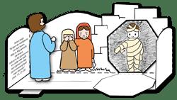 Werkje - De opwekking van Lazarus